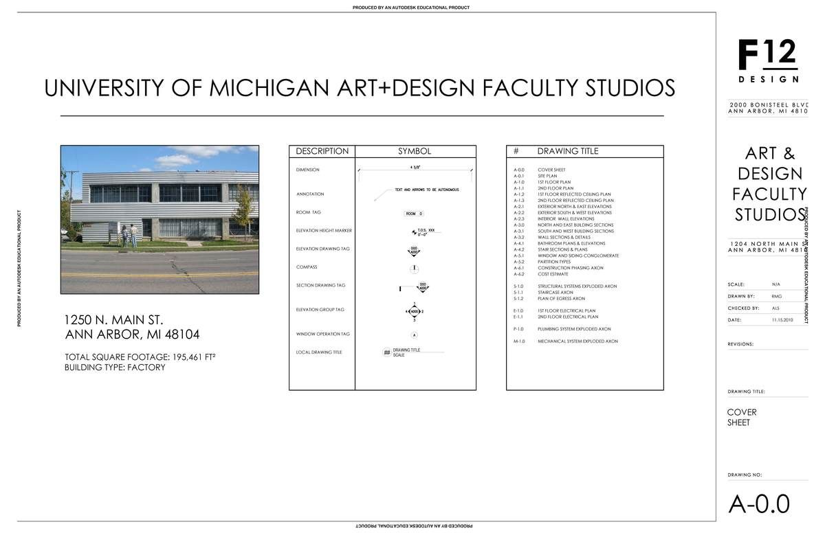 Construction Document Work Adam Szajner Archinect Construction Documents Symbol Drawing Title Block