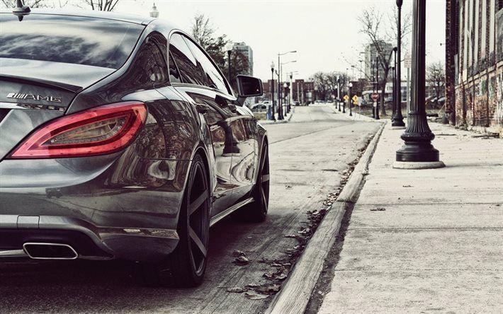Telecharger Fonds D Ecran Mercedes Benz Cls 63 Amg La Rue En 2017 Des Voitures Des Voitures De Luxe Mercedes Besthqwallpapers Com Mercedes Cls Voitures De Luxe Belle Voiture