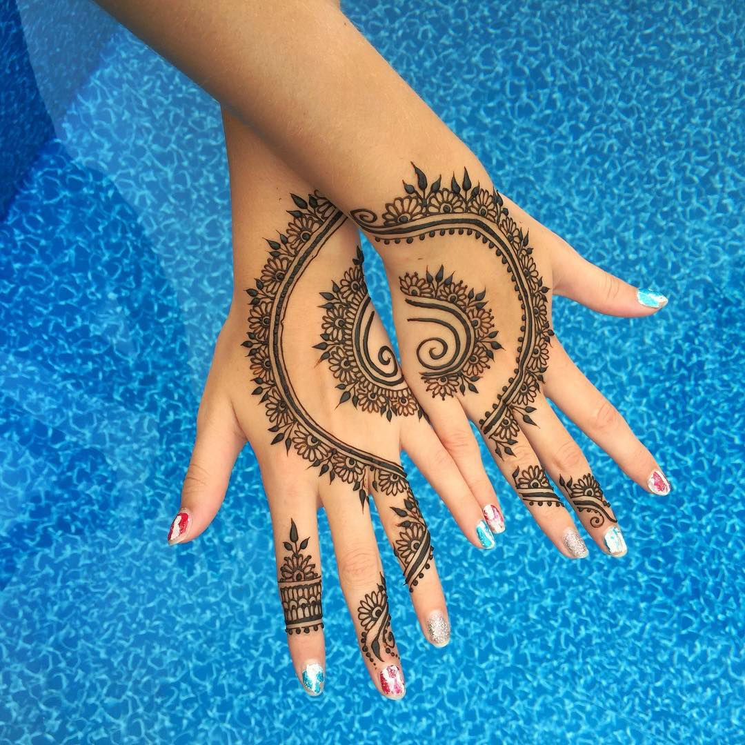 24 Henna Tattoos By Rachel Goldman You Must See: 24 Henna Tattoos By Rachel Goldman You Must See In 2020