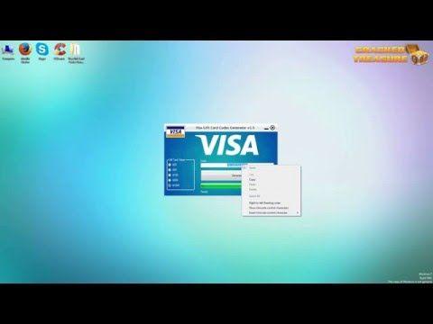 Free Visa Gift Card Codes Generator: http://imgur.com/gallery ...