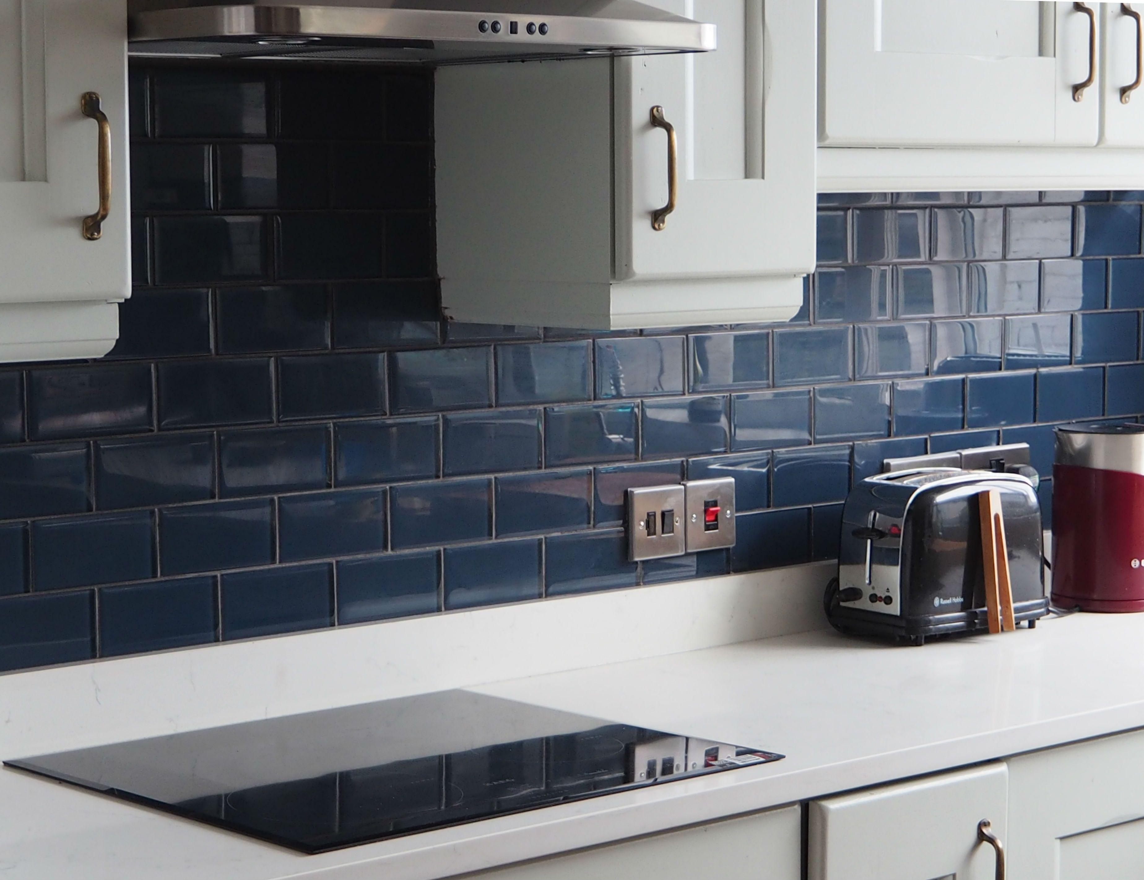 Image Result For Kitchen Tiles Petrol Blue