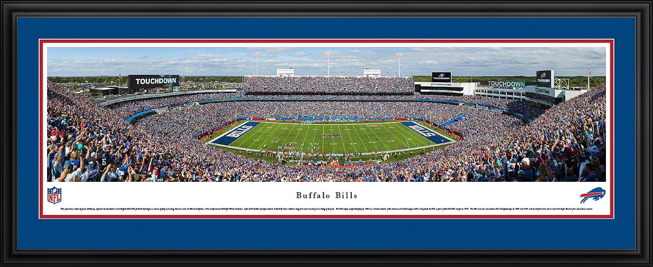 Buffalo Bills Ralph Wilson Stadium Panoramic Picture