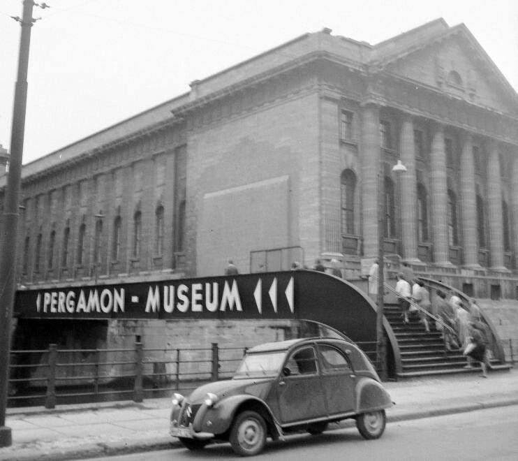 Berlin Ddr Pergamon Museum Hauptstadt Der Ddr