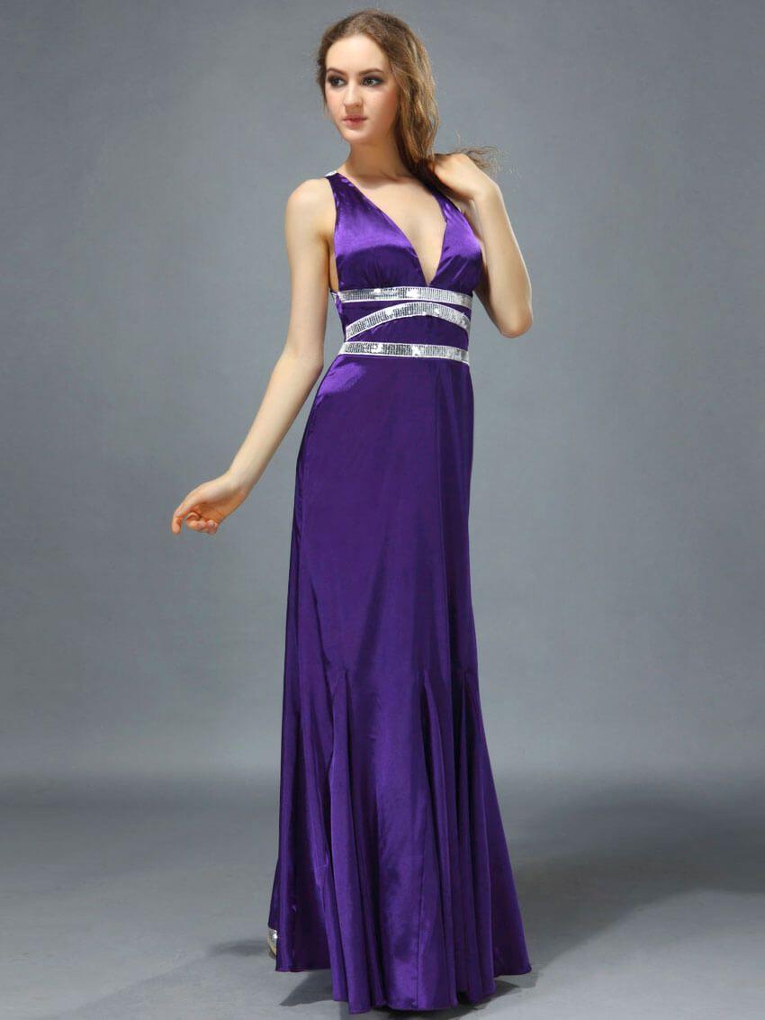 Платье атлас с кружевом длинное