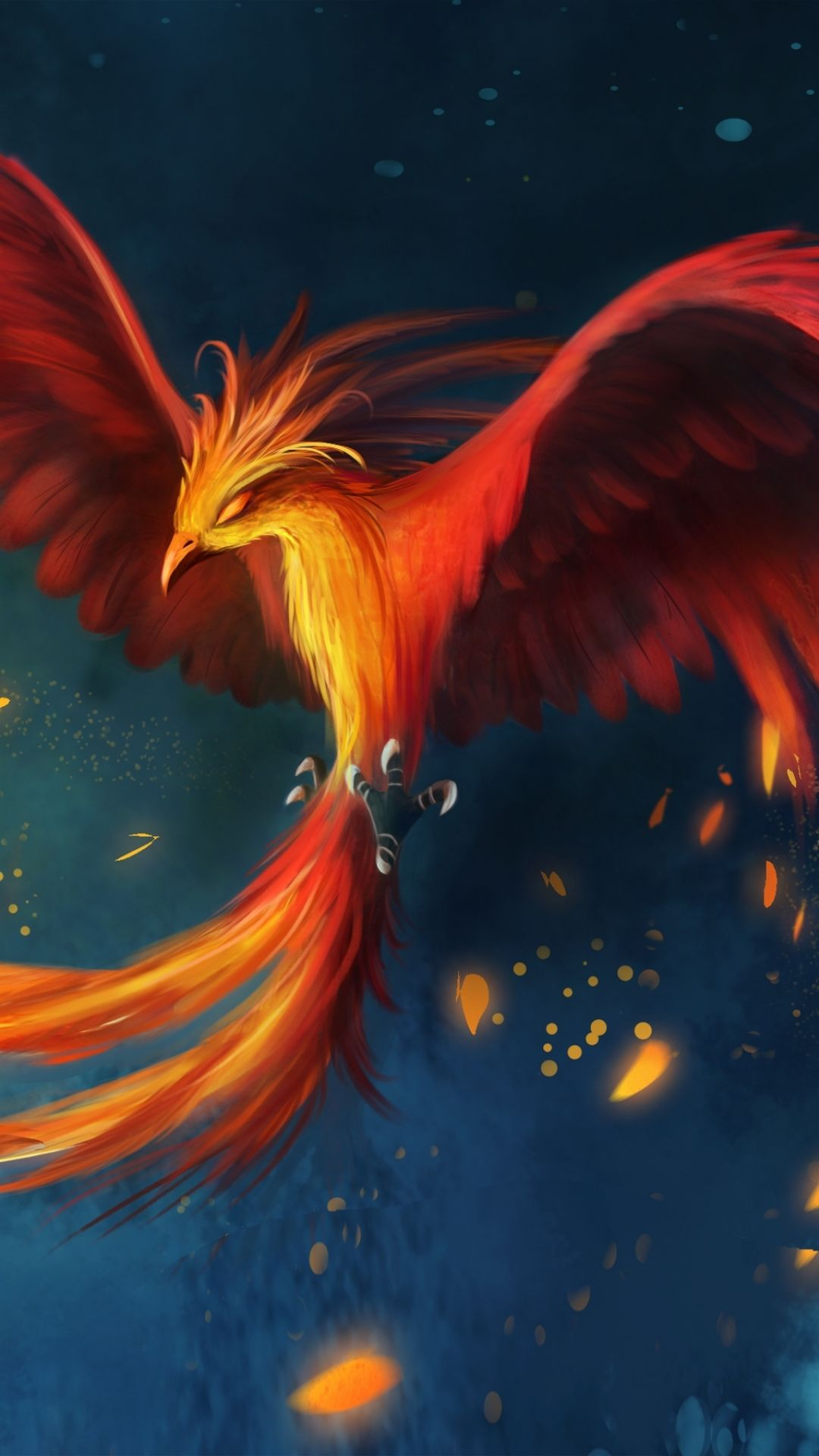 Phoenix apple iphone 6 plus 1080x1920 9 wallpapers - I phone fantasy wallpapers ...
