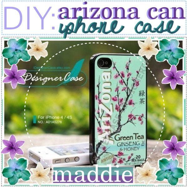 Diy arizona can iphone case diys arts crafts and writing diy arizona can iphone case solutioingenieria Image collections