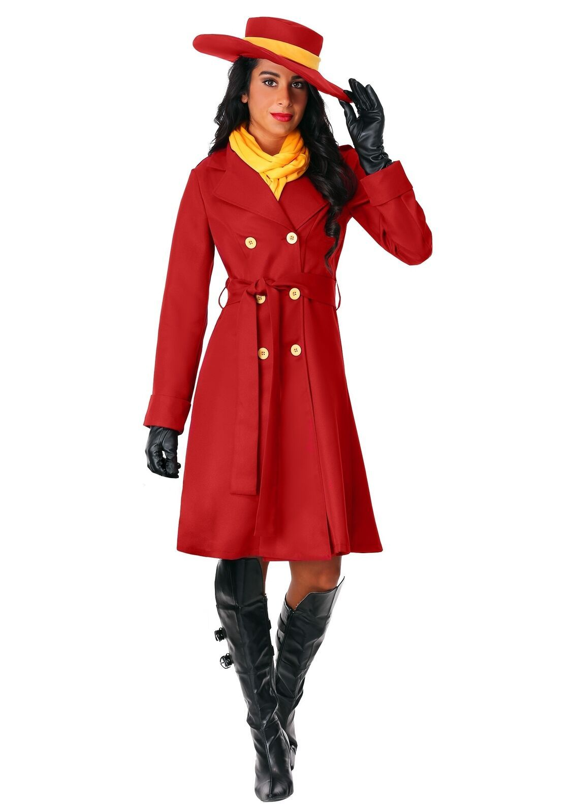 Details about Women's Carmen Sandiego Costume em 2020 Look