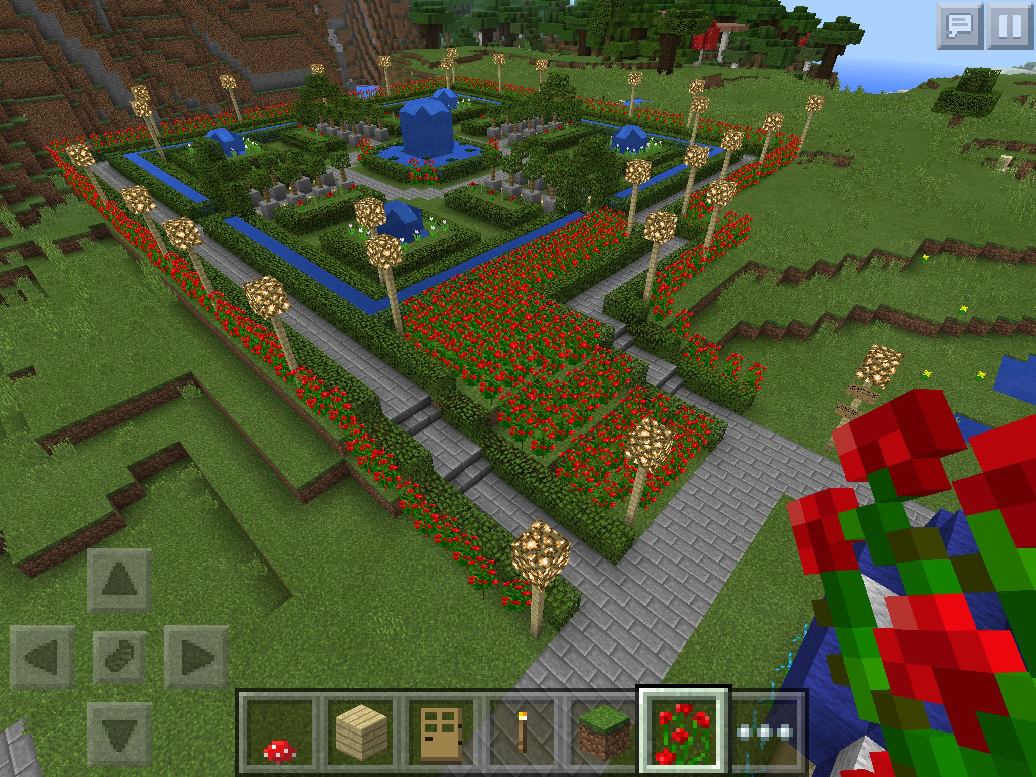 Minecraft cottage garden tutorial amazing simple minecraft garden japanese garden minecraft - Minecraft garden designs ...