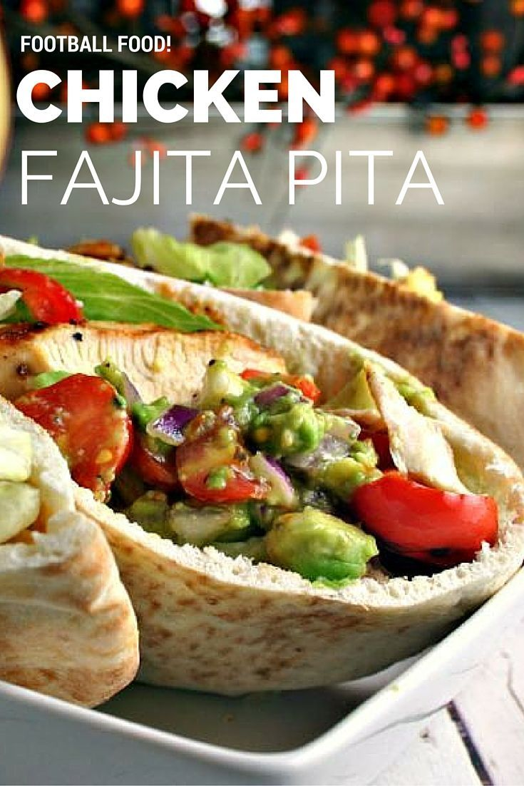 Chicken fajita pita recipe food recipes and dinners chicken fajita pita forumfinder Choice Image