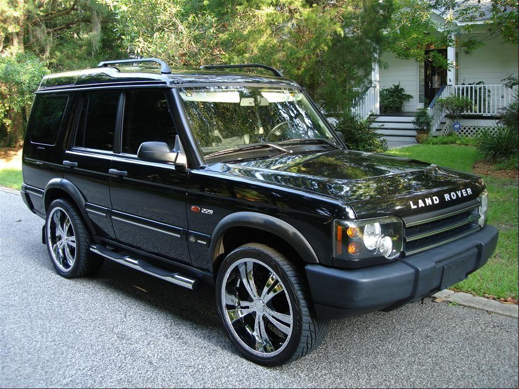 2004 Range Rover Black Custom 2004 black land rover Land