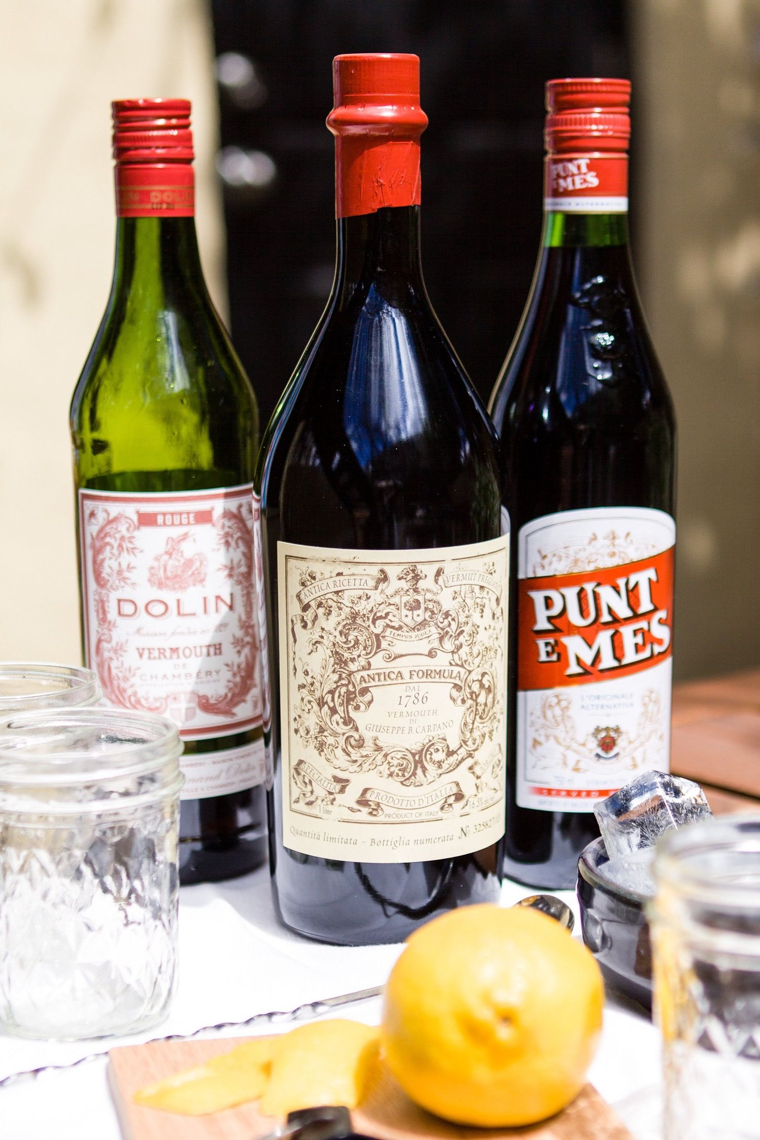 The 9 Bottle Bar Essentials Of Sweet Vermouth
