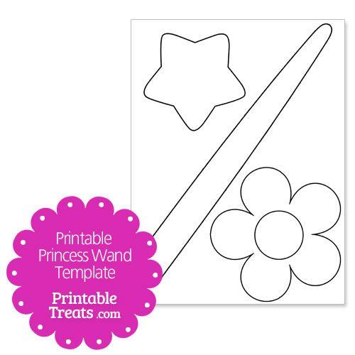 princess cut out template