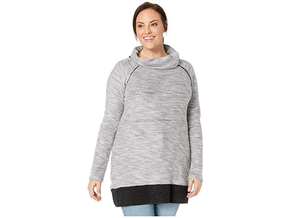 f3ea83ac94f Aventura Clothing Plus Size Shaylee Tunic (Black) Women s Long Sleeve  Pullover. This Aventura Clothing Plus Size Shaylee Tunic has a laidback  look that s ...
