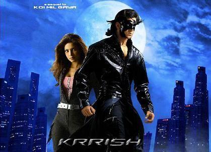 Krrish W Hrithik Roshan Superhero Hindi Movies Krrish 3