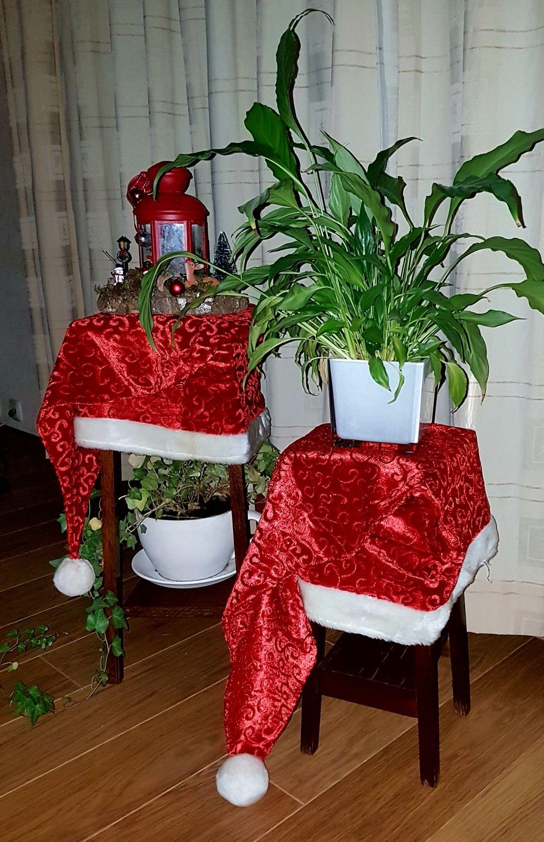 De eetkamer stoelhoezen. - kerst | Pinterest - Stoelhoezen ...