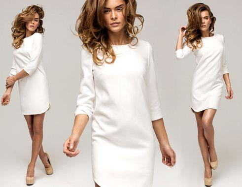 Biala Sukienka Zawsze W Modzie Przeglad Fashyou Pl Fashion White Dress Dresses