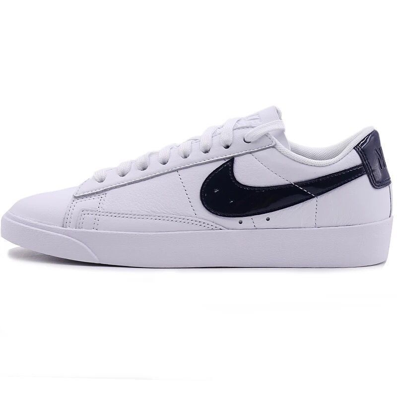 2018 Legit Cheap Women Nike Blazer Low LE White Obsidian  574f480af7