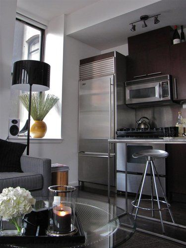 ApartmentTherapy.com, 350 SF apt studio apartment in NYC | Small ...
