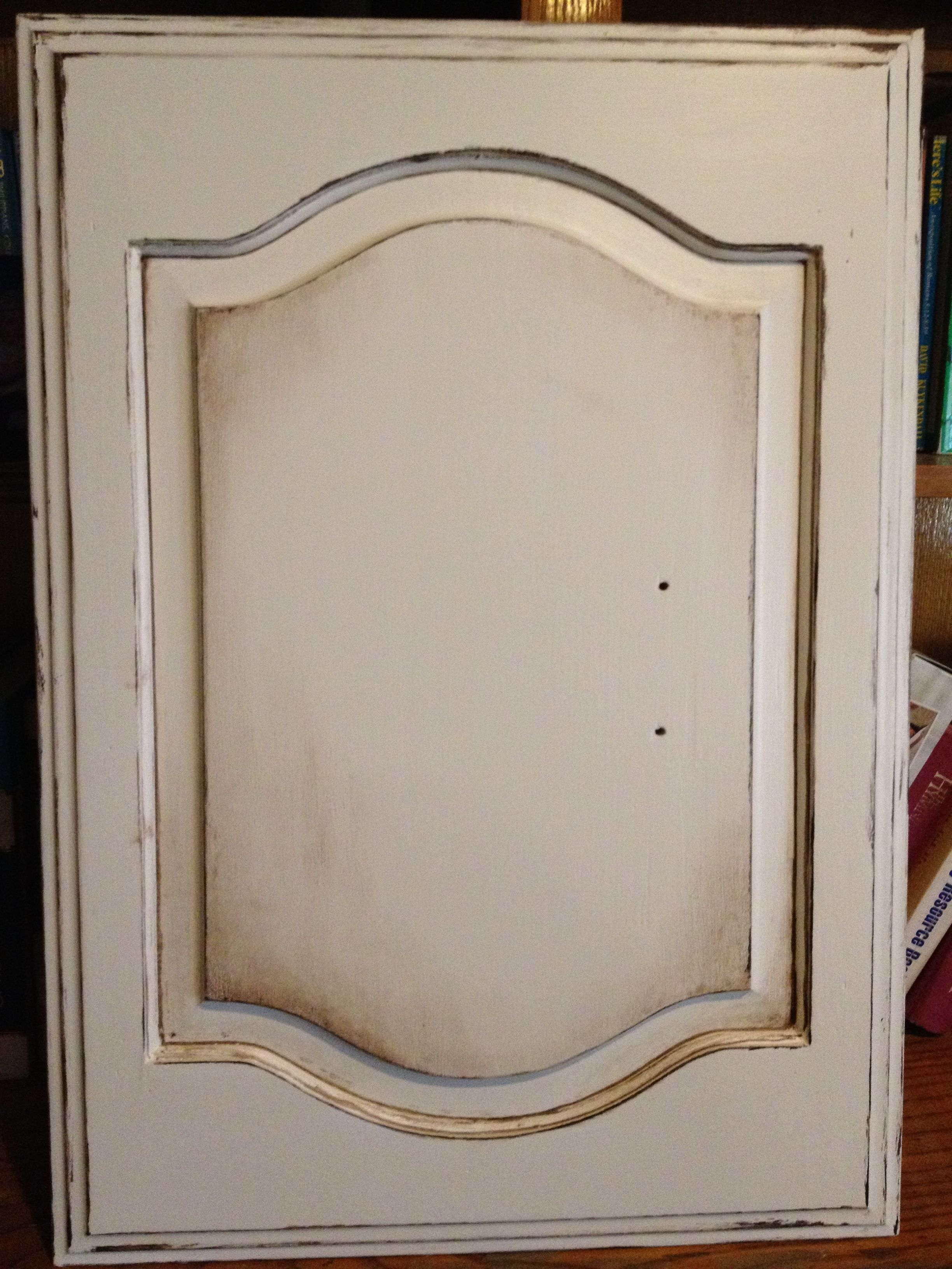 Valspar Foxtrot distressed with Kona stain makes this old 1980\'s ...