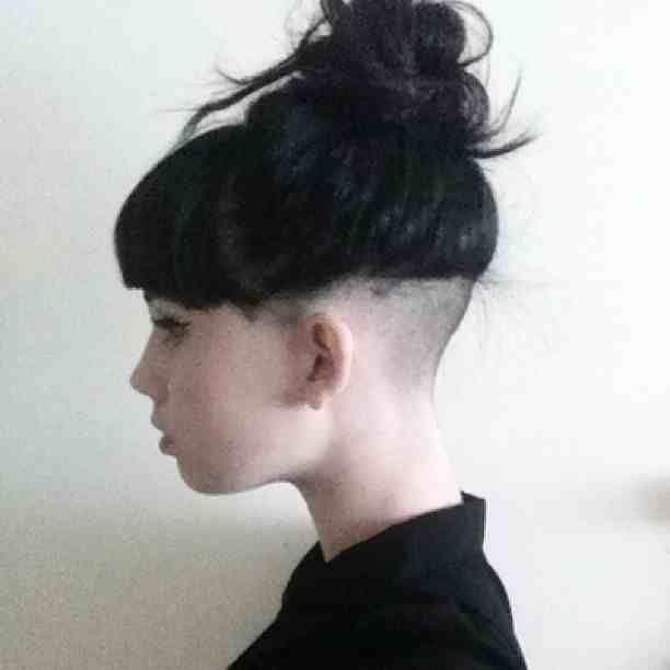 nape undercut hairstyle women , Google Search