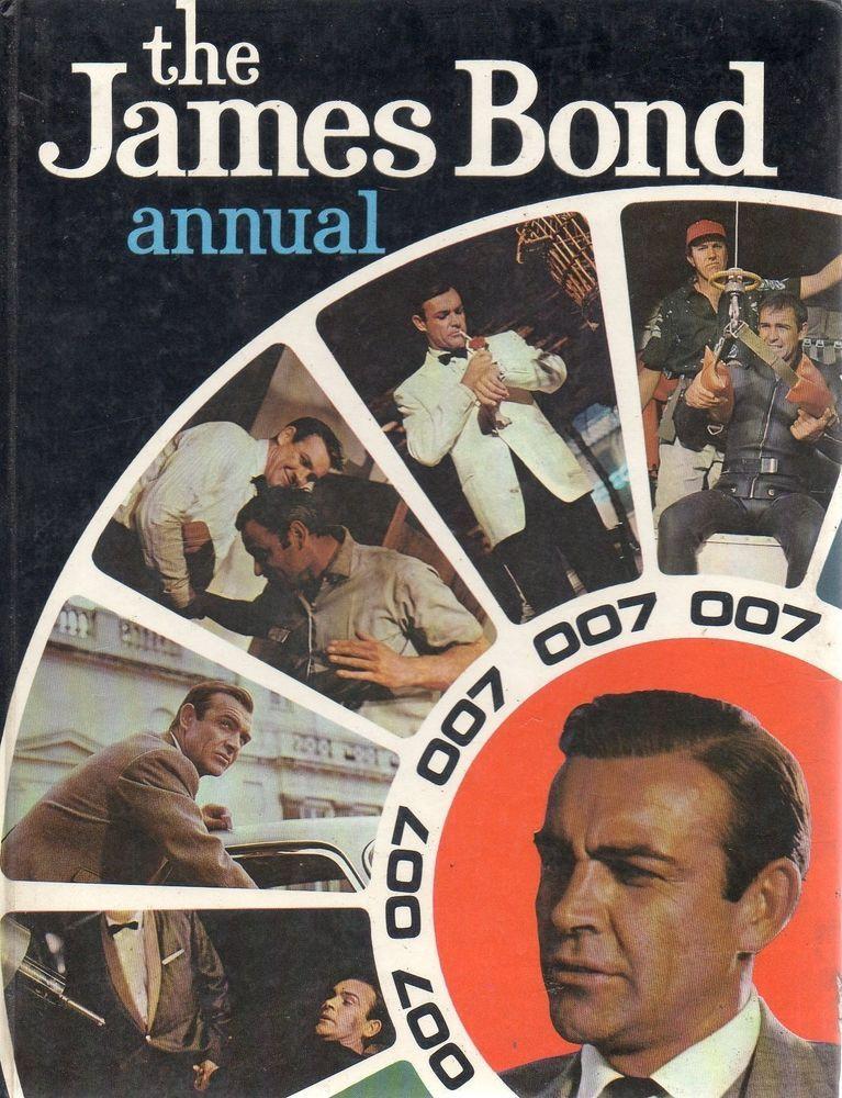 James Bond 1968 Annual World Distributors Sean Connery Bond