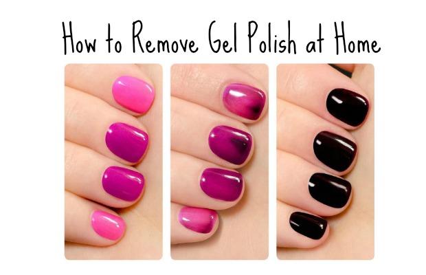 How To Remove Gel Polish At Home Nail Polish Remove Gel Polish Pretty Nail Designs Acrylics