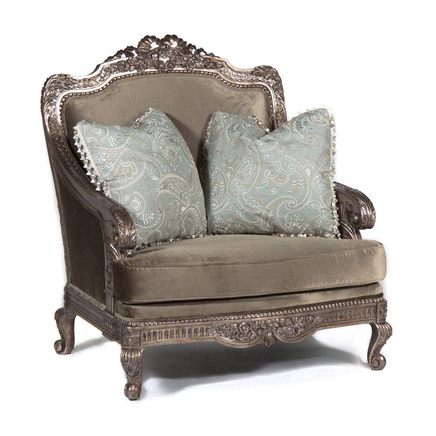 Ital Art Design Rgf Venice L Lounge Accent Chair Atg S
