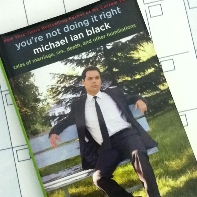 Michael Ian Black is turbo-honest in this book, just as often poignant as it is funny. Great read. I got teary turning from page 235 to 236. He got me, the ass. Really enjoyable.