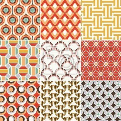 papier peint arri re plan chelon vert seamless retro un large choix de mat riaux. Black Bedroom Furniture Sets. Home Design Ideas