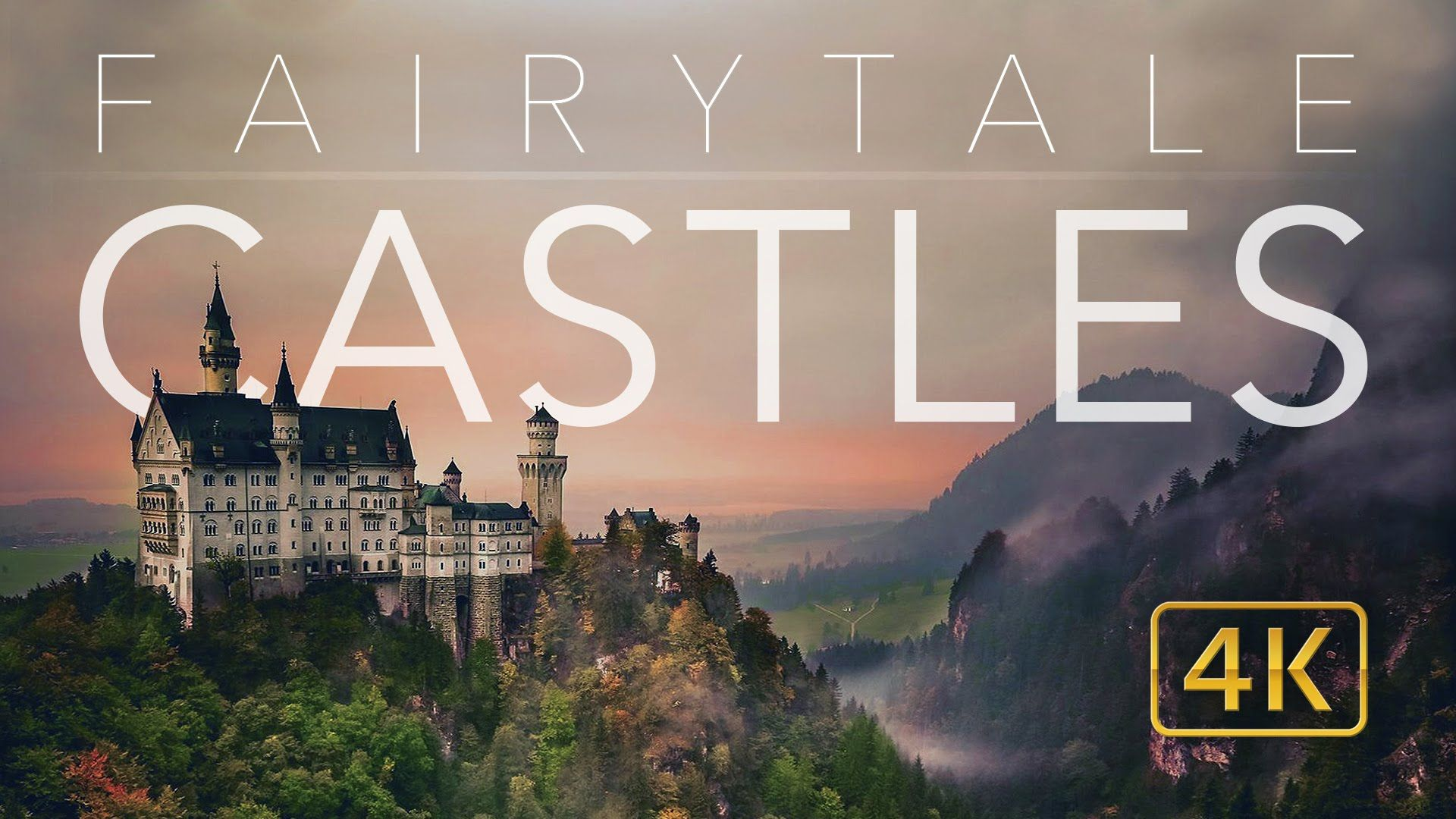 FAIRYTALE CASTLES 4K  // COMPILATION OF EUROPE'S BEST CASTLES & PALACES // AERIAL DRONE EARTH PORN - YouTube