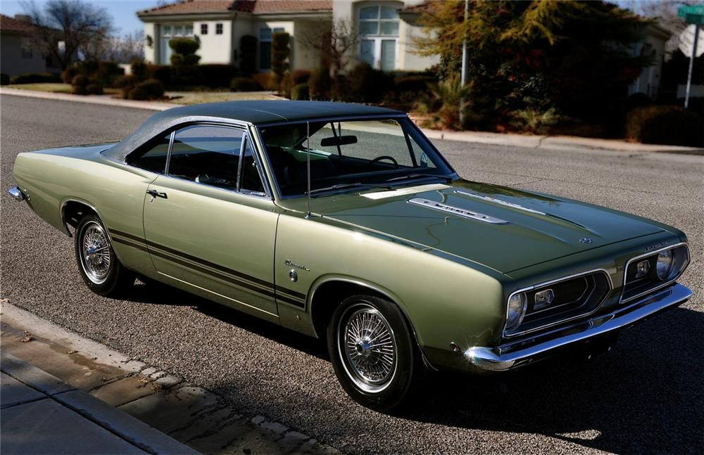 1968 PLYMOUTH BARRACUDA FORMULA S 2 DOOR HARDTOP