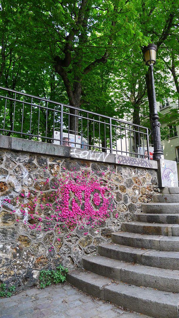 Origami street art by Mademoiselle Maurice   Mademoiselle ...
