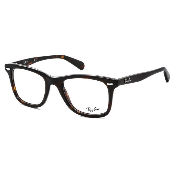 Ray-Ban RX5317 Icons 2012 Eyeglasses (€110) ❤ liked on Polyvore ...