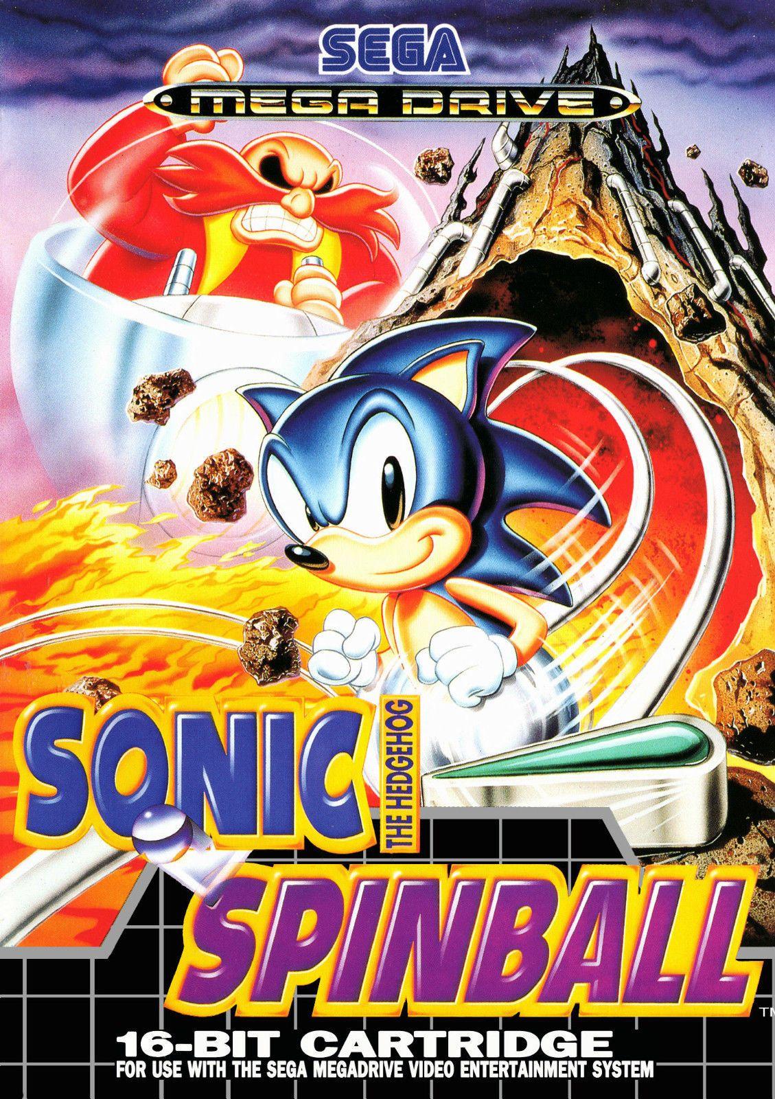 Framed Print Sonic The Hedgehog Spinball Sega Mega Drive