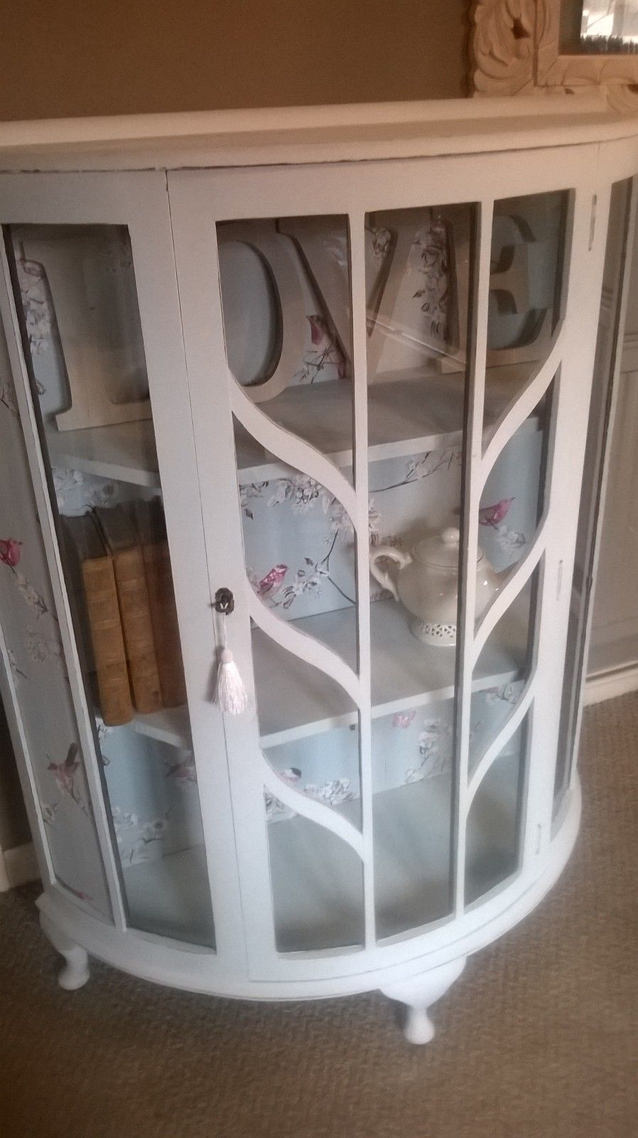 Vintage up-cycled glass display cabinet | eBay & Vintage up-cycled glass display cabinet | eBay | Ideas for the House ...