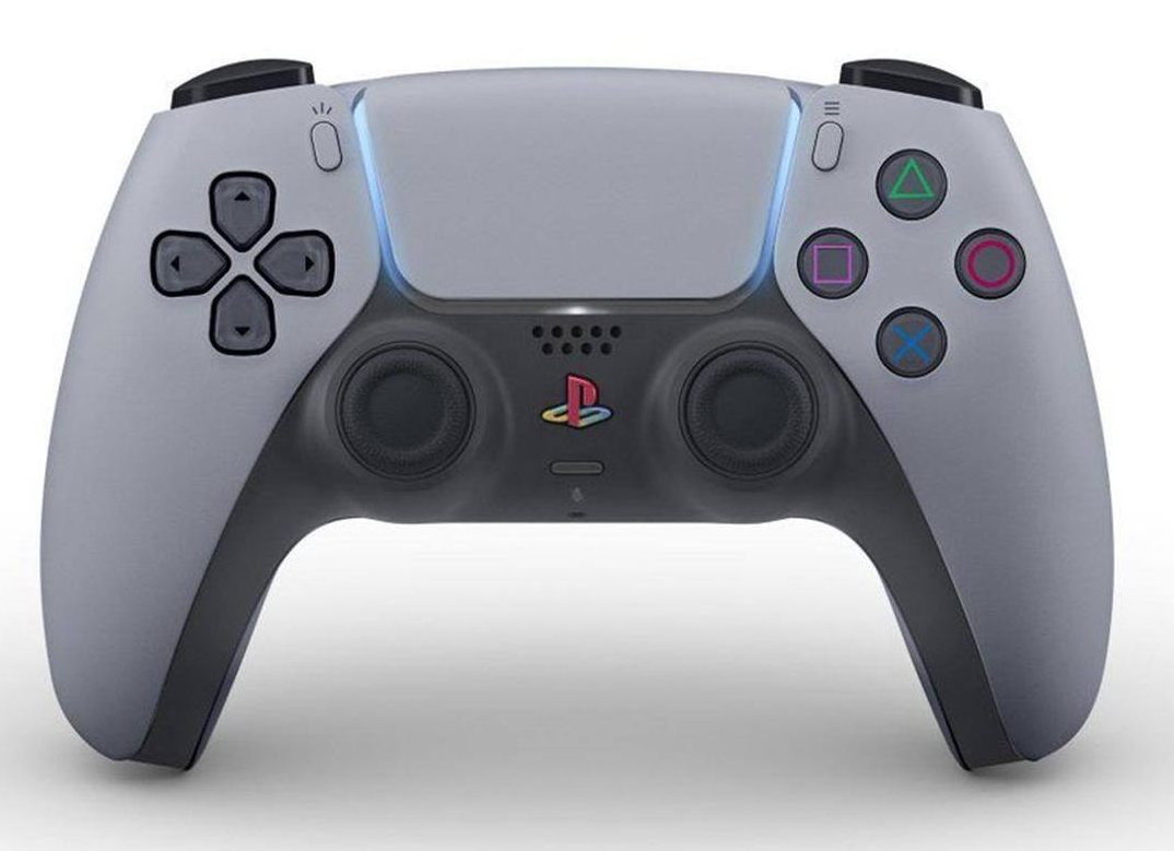 Og Ps5 Controller Scheme Retro Gaming Art Custom Consoles Playstation 5