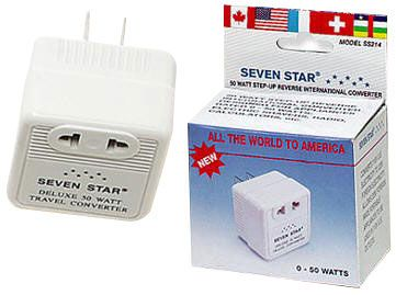 50 Watts Step Up Travel Converter Compact Size Voltage Converter Converter Electronic Shop