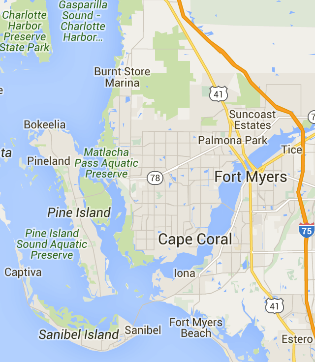 Cape Coral FL Real Estate Sold Homes on Map Movoto Cape coral