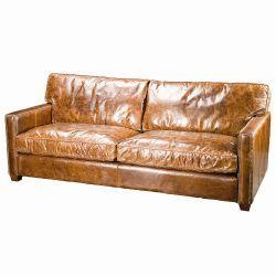 Sterling Cigar Sofa From Io Metro Distressed Leather Sofa Distressed Leather Couch Vintage Leather Sofa