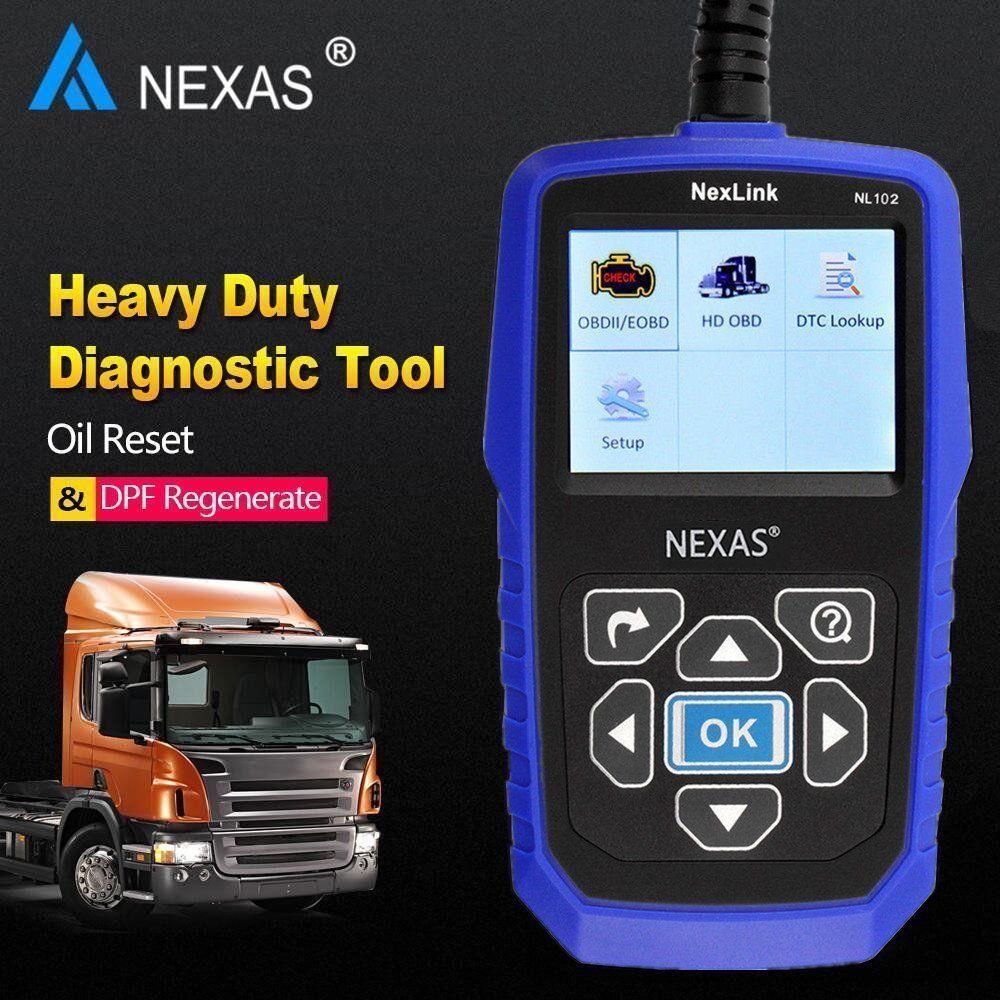 heavy duty truck scan tool nl102