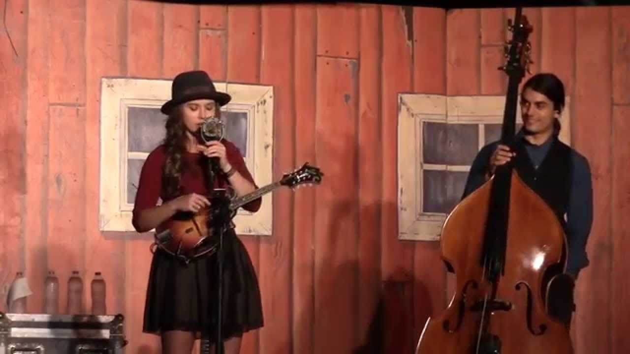 Sierra Hull Ethan Jodziewicz Columbia Gorge Bluegrass Festival 2015 Bluegrass Hull Columbia