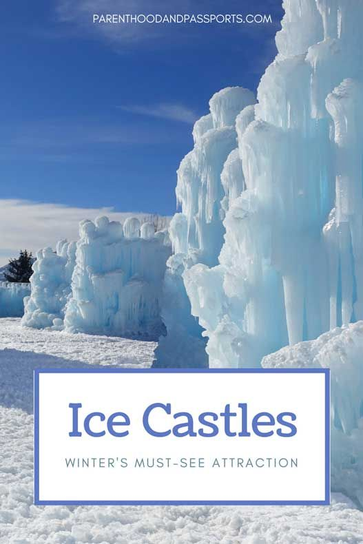 Ice Castles - Winter's Must-See Attraction in North America #travelnorthamerica