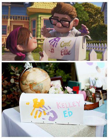 Una Boda Inspirada En Up Boda Inspirada En Disney