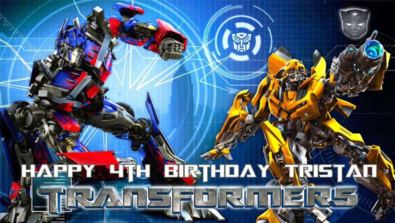 Открытки с трансформерами с днем рождения мальчику, днем