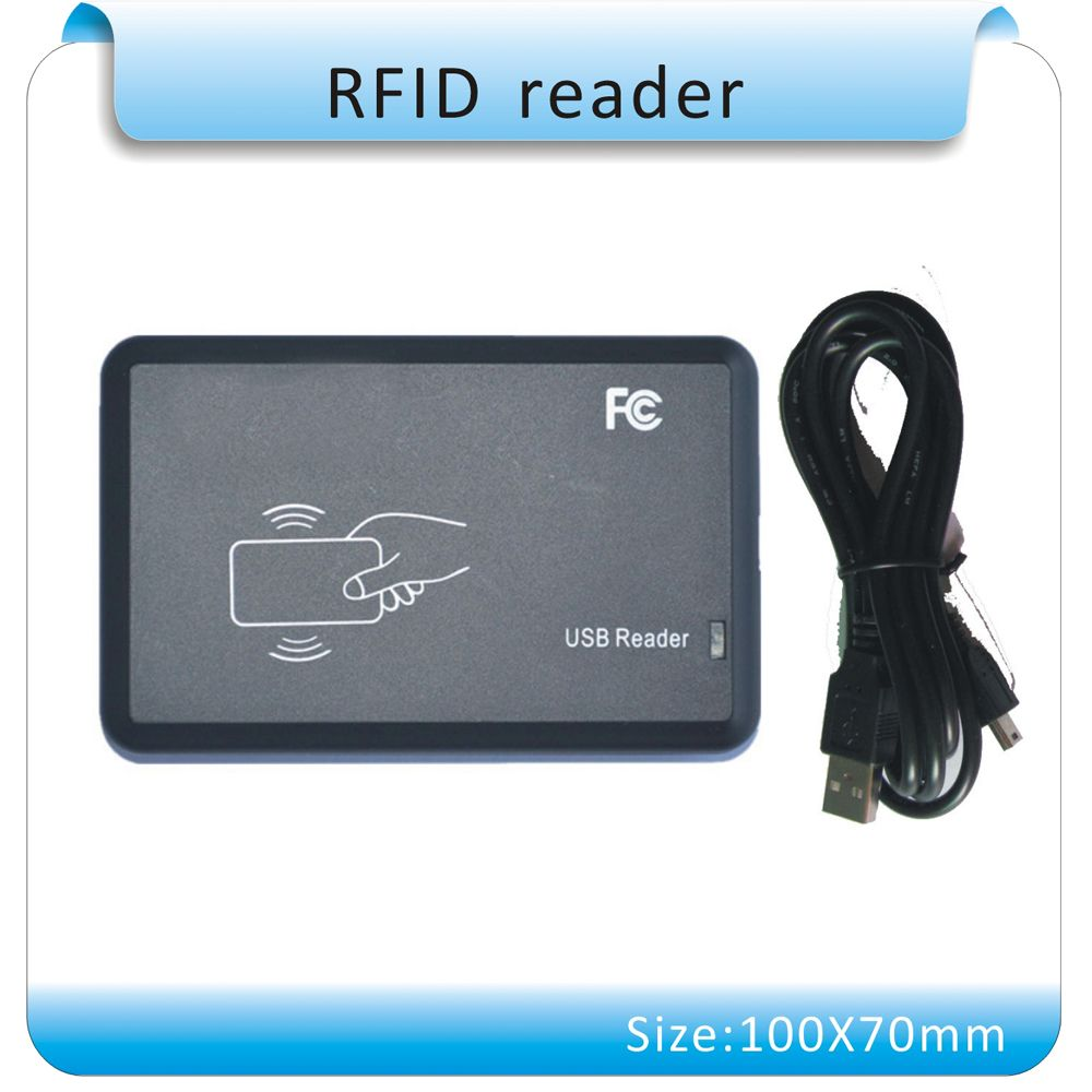 Free shipping ISO14443A USB port 13 56Mhz RFID Reader Writer