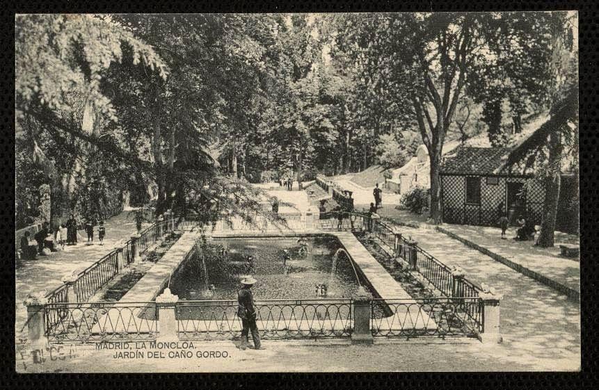 1930 Jardin De Cano Gordo Dehesa De La Villa Viajes