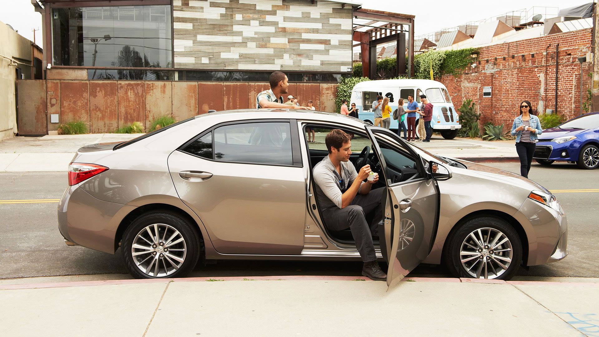 medium resolution of metallic arrive with a style toyota dealers toyota corolla brown sugar cool cars