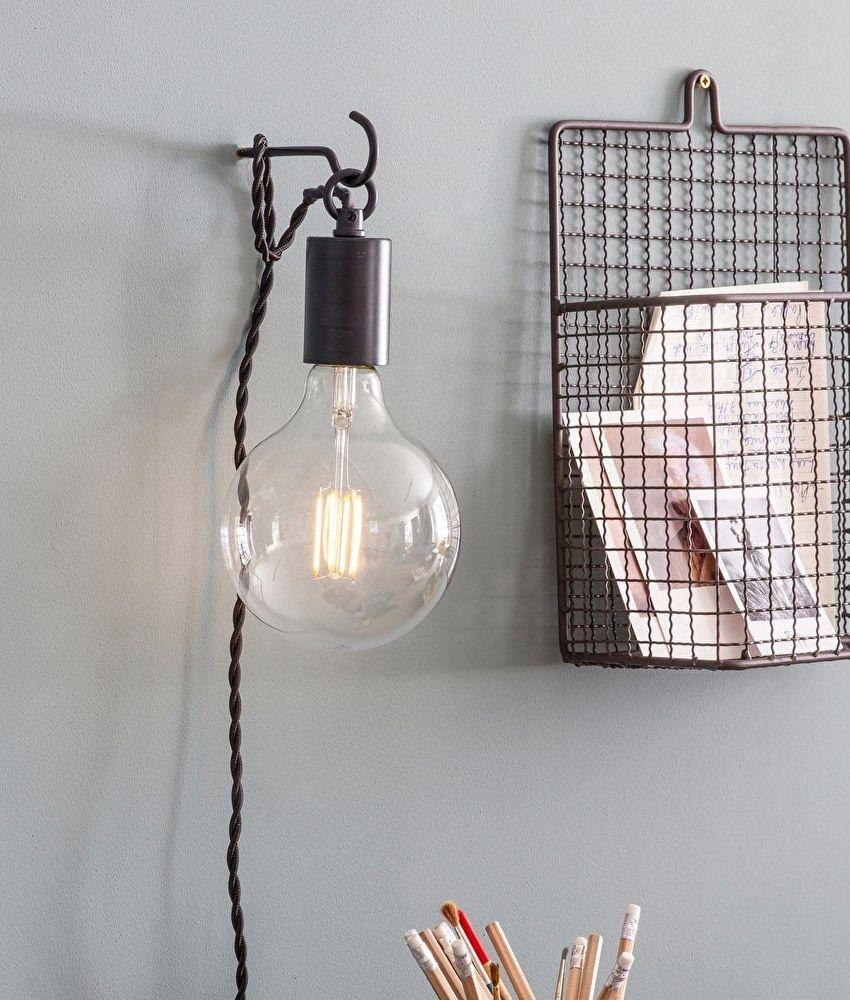 Bare Bulb Hook Wall Light Wall Lights Hanging Light Bulbs Wall Lights Bedroom