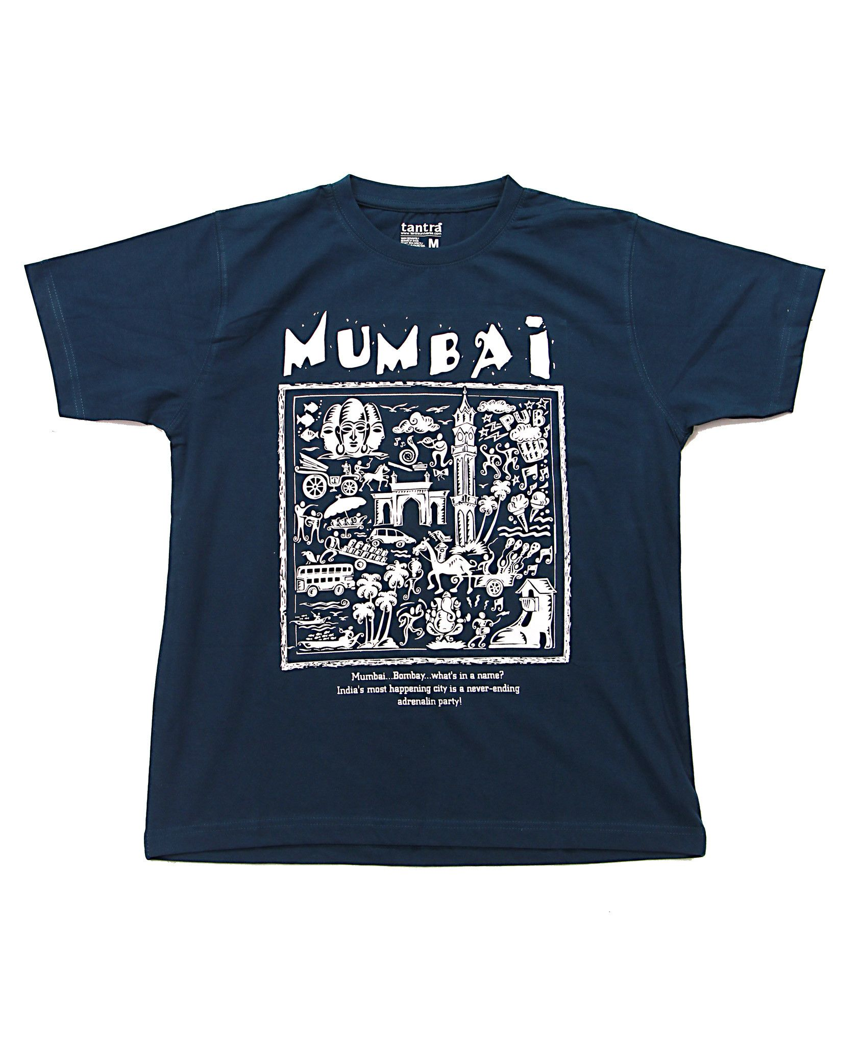 Bombay/Mumbai, Men, Cool TShirt Designs Online Graphic T Shirts ...