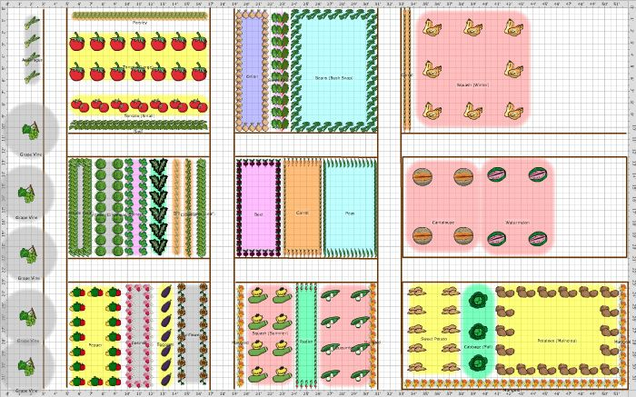 Garden Plan - 2014: Homestead (With images) | Garden ...